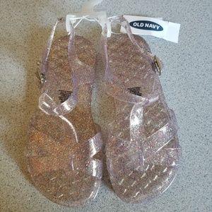 Toddler girl jelly sandals